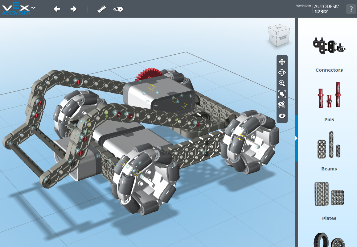 VEXrobotics.com FREE CAD software Capture your robotic designs ...
