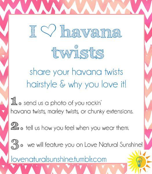 havana twists photo challenge