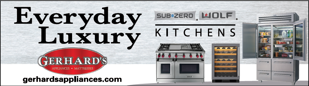 Professional and elegant appliances can be yours when you shop at Gerhard's today and receive unbeatable prices.