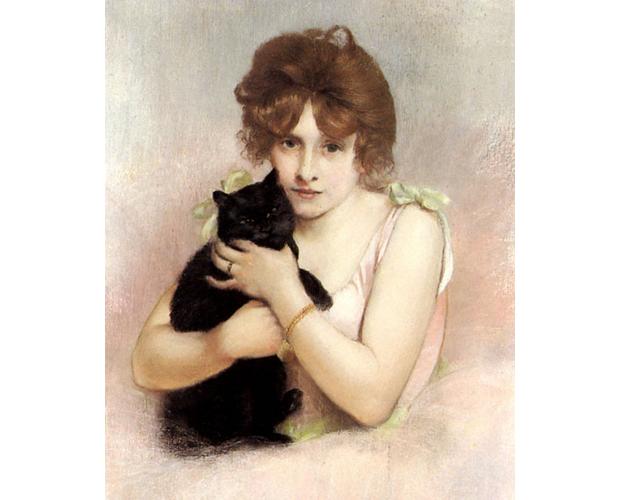 11 Works of Art Featuring Felines | Mental Floss