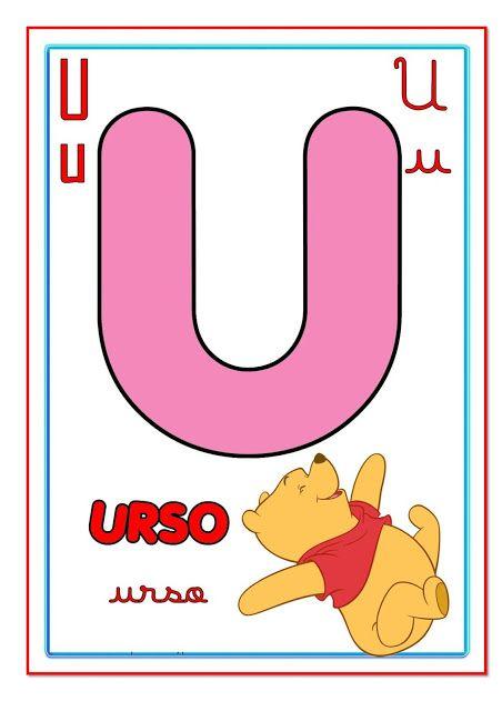 Cartazes Com Letras Do Alfabeto Ilustrado Para Imprimir Tipos De