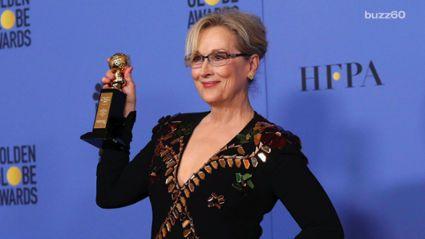 Trump fires back at 'overrated' Meryl Streep