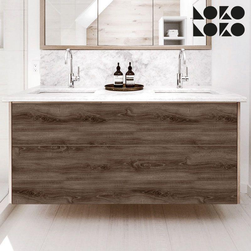 Mueble De Baño Forrado Con Vinilo. Tu Estilo Decorativo De Hogar, Ahora Mas  Fácil · #lokolokodecora