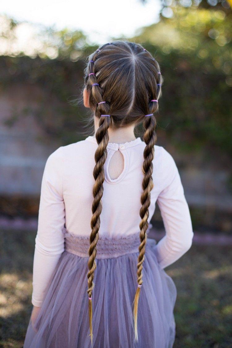 Flechtfrisuren Fur Kinder Mit Anleitung Perfekt Fur Die Schule Und Kinderpartys Flechtfrisuren Flechtfrisuren Kinder Frisuren