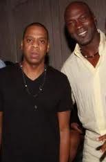 Jay Z and Michael Jordan | Jay z