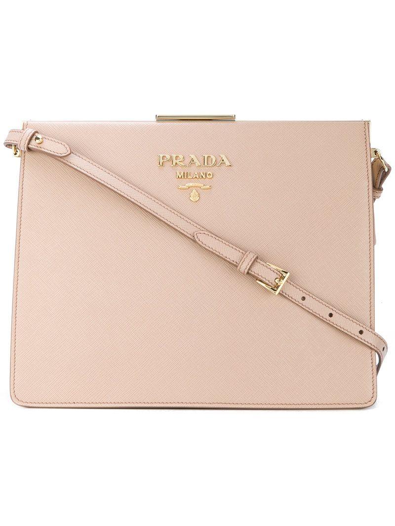 7af99ac38598 PRADA LIGHT FRAME SHOULDER BAG.  prada  bags  shoulder bags  leather ...