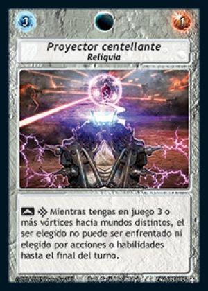 Proyector centellante