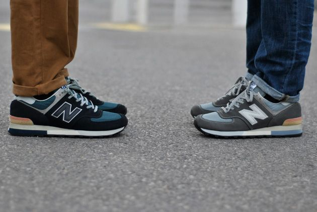 new balance 576 suede gris