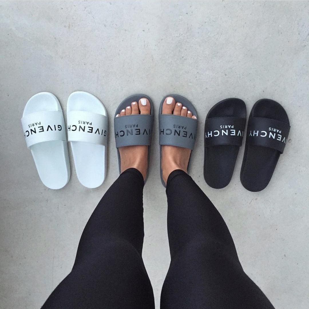 GIVENCHY SLIDES | Givenchy shoes, Heel
