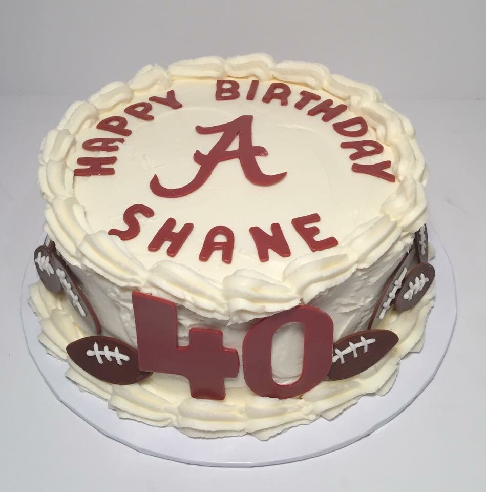 Brilliant Alabama Birthday Cake With Images Alabama Birthday Cakes Funny Birthday Cards Online Overcheapnameinfo