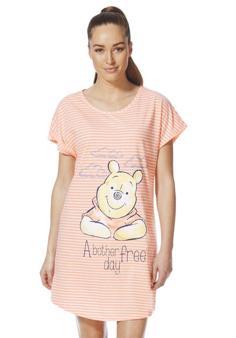 Clothing at Tesco | Disney Winnie the Pooh Sleep T-Shirt > nightwear ...