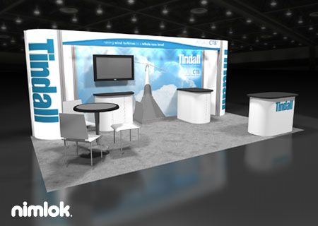 Trade Show Booth Objectives : Nimlok specializes in designing trade show booths and custom