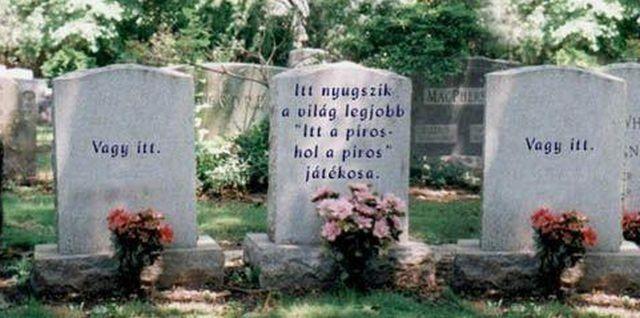 sírfeliratok idézetek Itt nyugszik az öreg Kassák hogy többé ne baszogassák