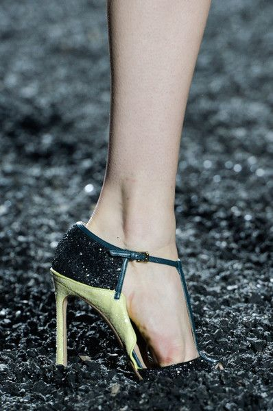Mary Katrantzou at London Spring 2015 (Details)