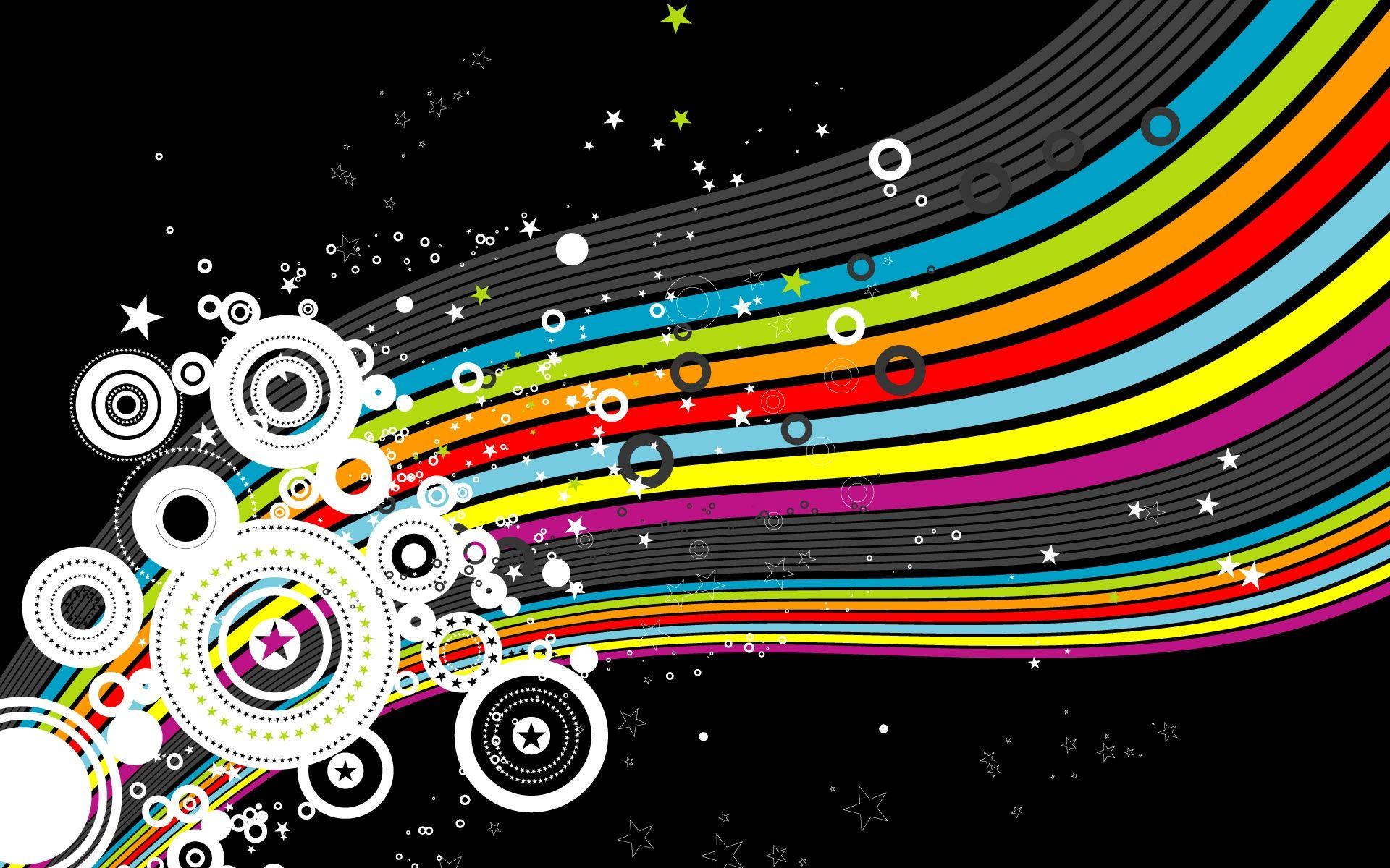 Cool Designs Cool Design Desktop Wallpaper 6798 With Images Rainbow Wallpaper Desktop Wallpaper Design Graphic Wallpaper