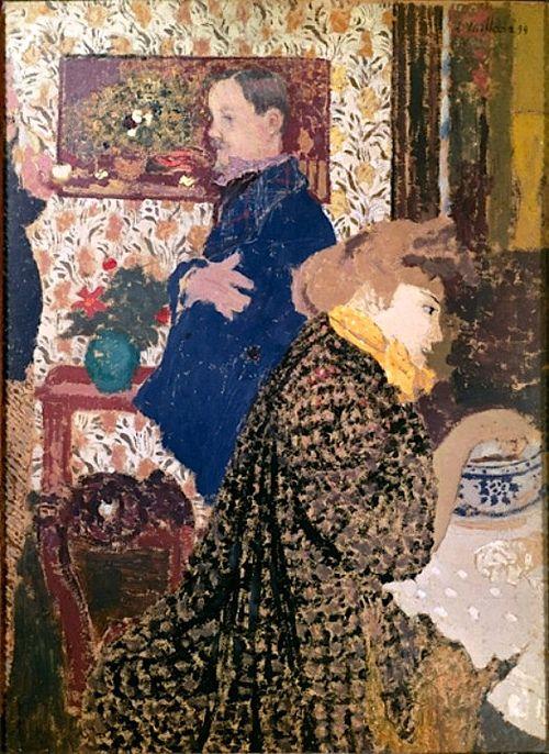 Misia and Vallotton at Villeneuve (1899) Édouard Vuillard