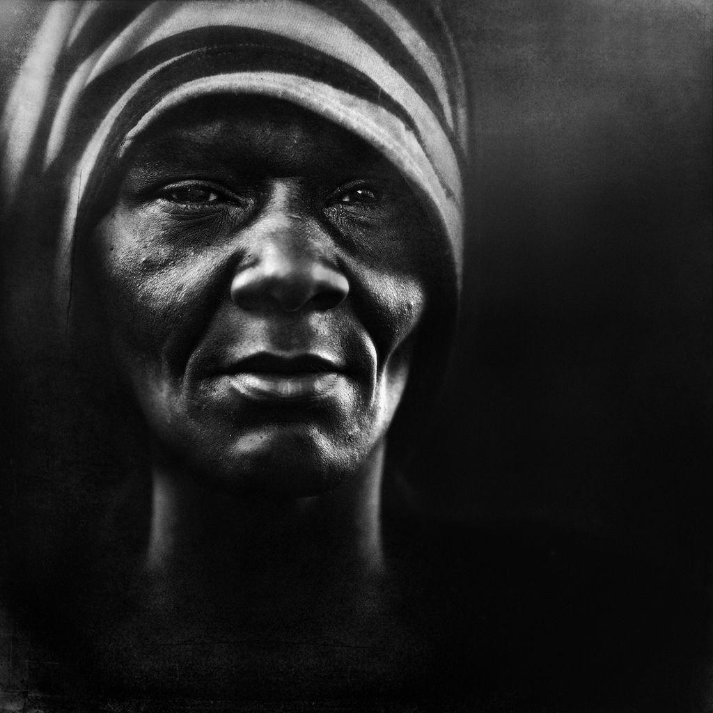 Untitled Portrait Lee Jeffries Face