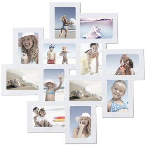 birthday gift12 opening wall collage photo picture frame xsj205 adeco wall