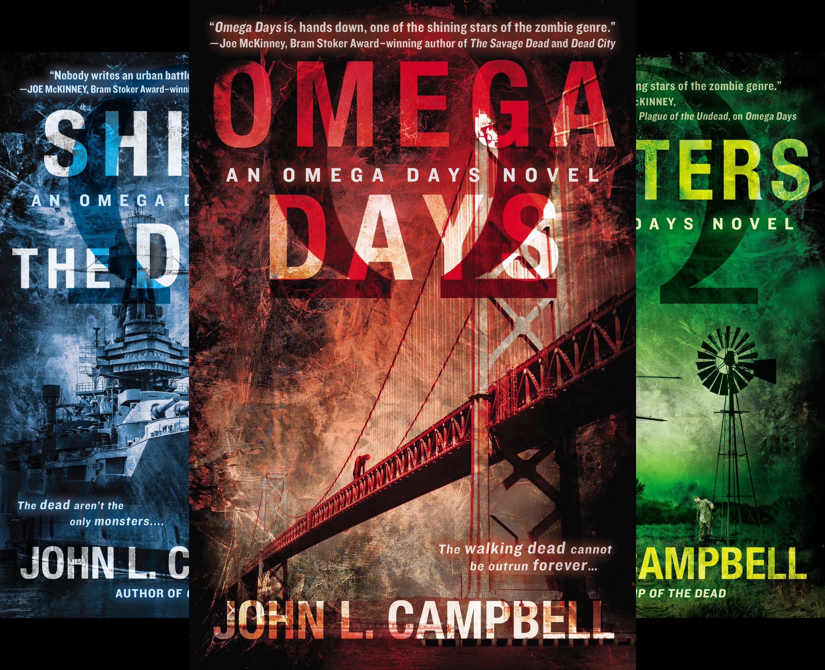 An Omega Days Novel (3 Book Series) @ niftywarehouse.com #NiftyWarehouse #Zombie #Horror #Zombies #Halloween