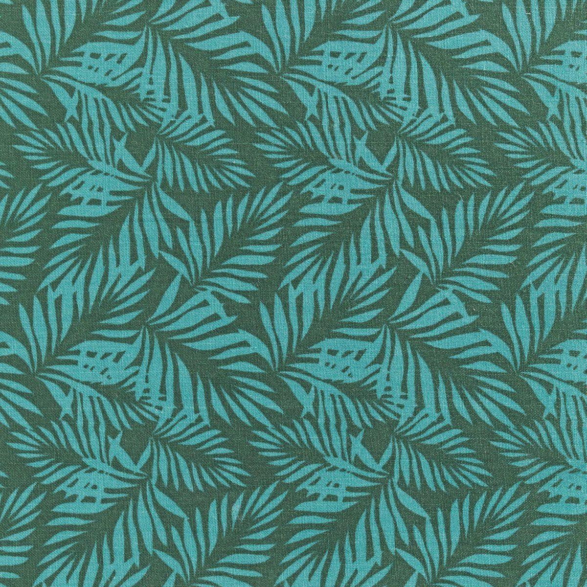 Stoff 140 cm Big leaves green