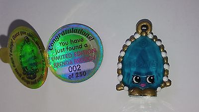 Shopkins Brenda Brooch Limited Edition 2/250 Season 3