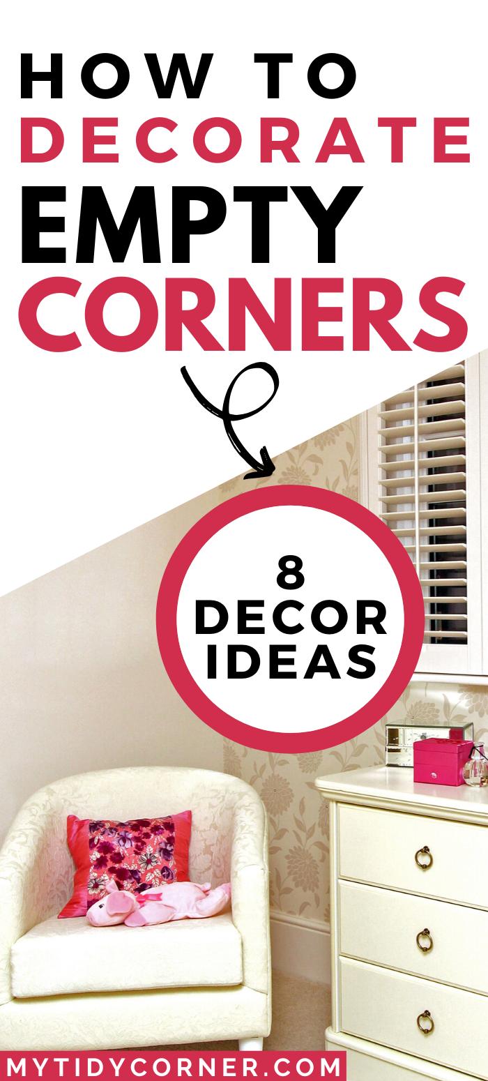31+ What to put in empty corner of bedroom information