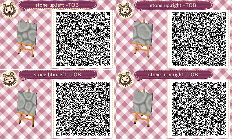 Acnl Qr Code Near Matching Cobblestone Path Animal Crossing Qr