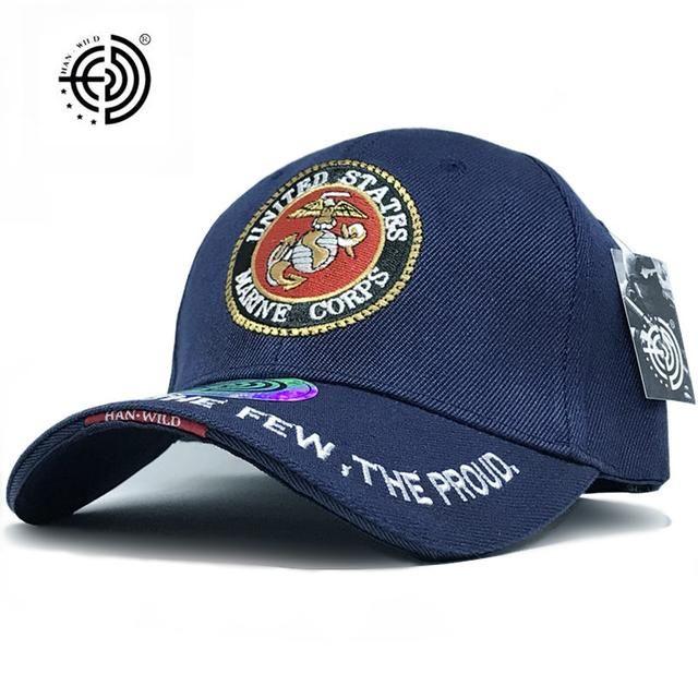 U.S.M.C. Logo Embroidered Baseball Cap  f56a32309d9f