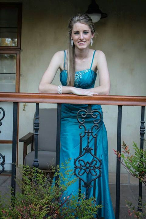 Blue matric farewell dress