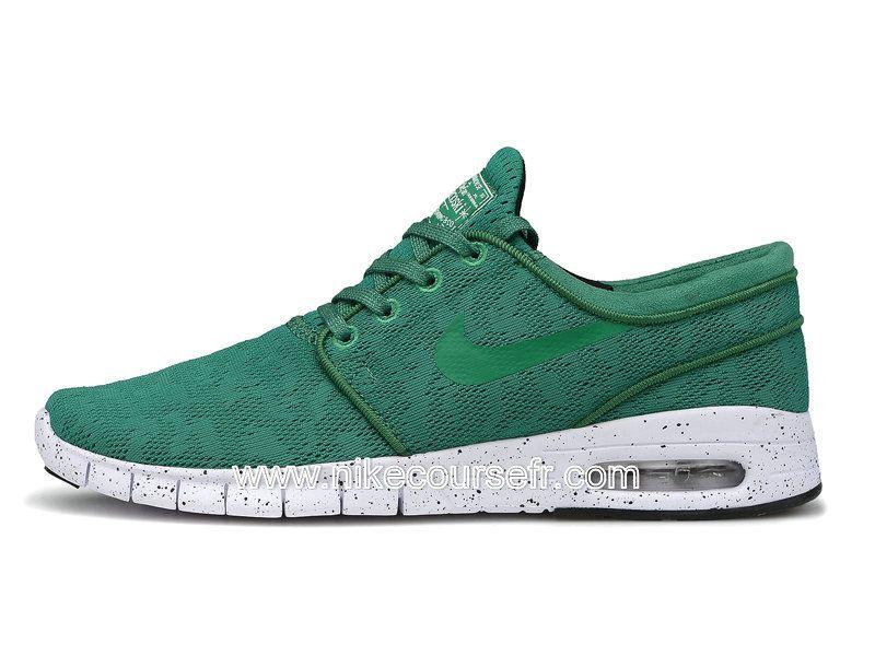 0b96e1cb8b0 Nike SB Stefan Janoski Max Chaussures Pas Cher Pour Homme Vert 631303-ID1 -  Officielle Nike Course Chaussures Boutique En Ligne!