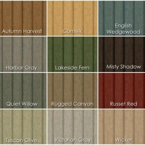 Awesome colours collection of board and batten siding for exterior siding design painting - Wood exterior paint collection ...