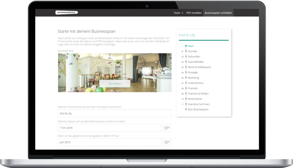 Du Brauchst Einen Bankfahigen Businessplan Kein Problem Mit Meiner Hilfe Unternehmerheld Businessplan Planer Geschaftsideen