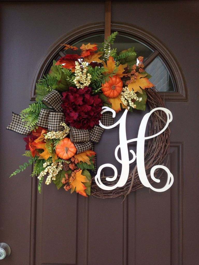 Best Ideas To Create Fall Wreaths Diy 115 Handy Inspirations 061 #fallwreaths