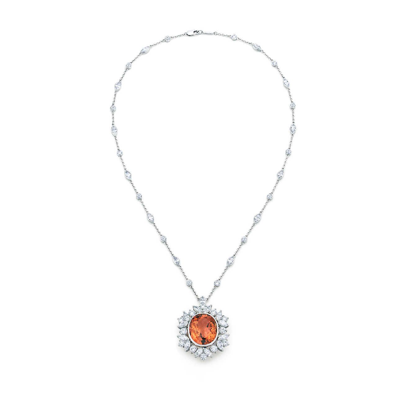 Imperial topaz necklace imperial topaz topaz and tiffany necklace imperial topaz necklace aloadofball Image collections