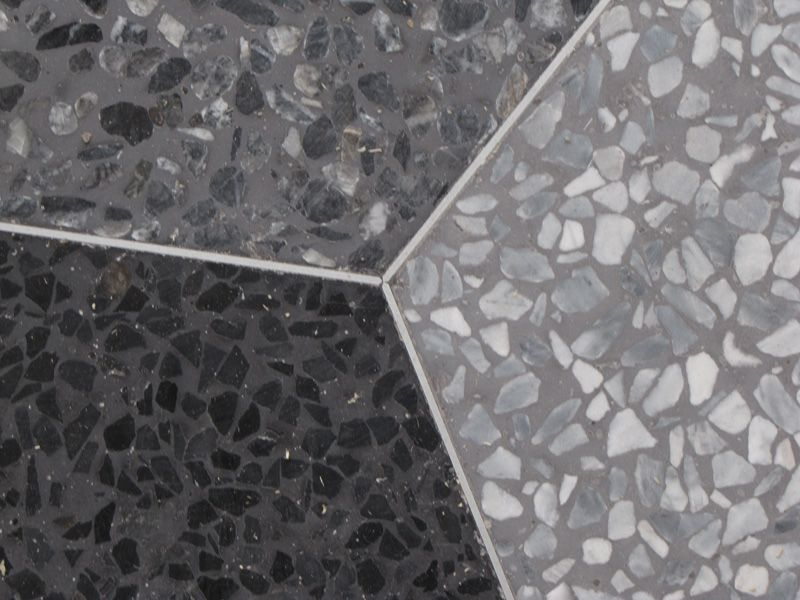 Copenaghen Mosaic Pavimento Veneziano Tecnica Terrazzo