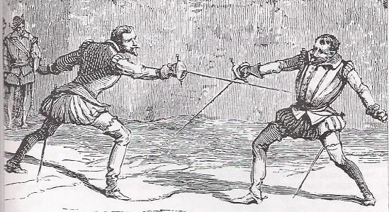 Image result for romeo and juliet duel 16th C
