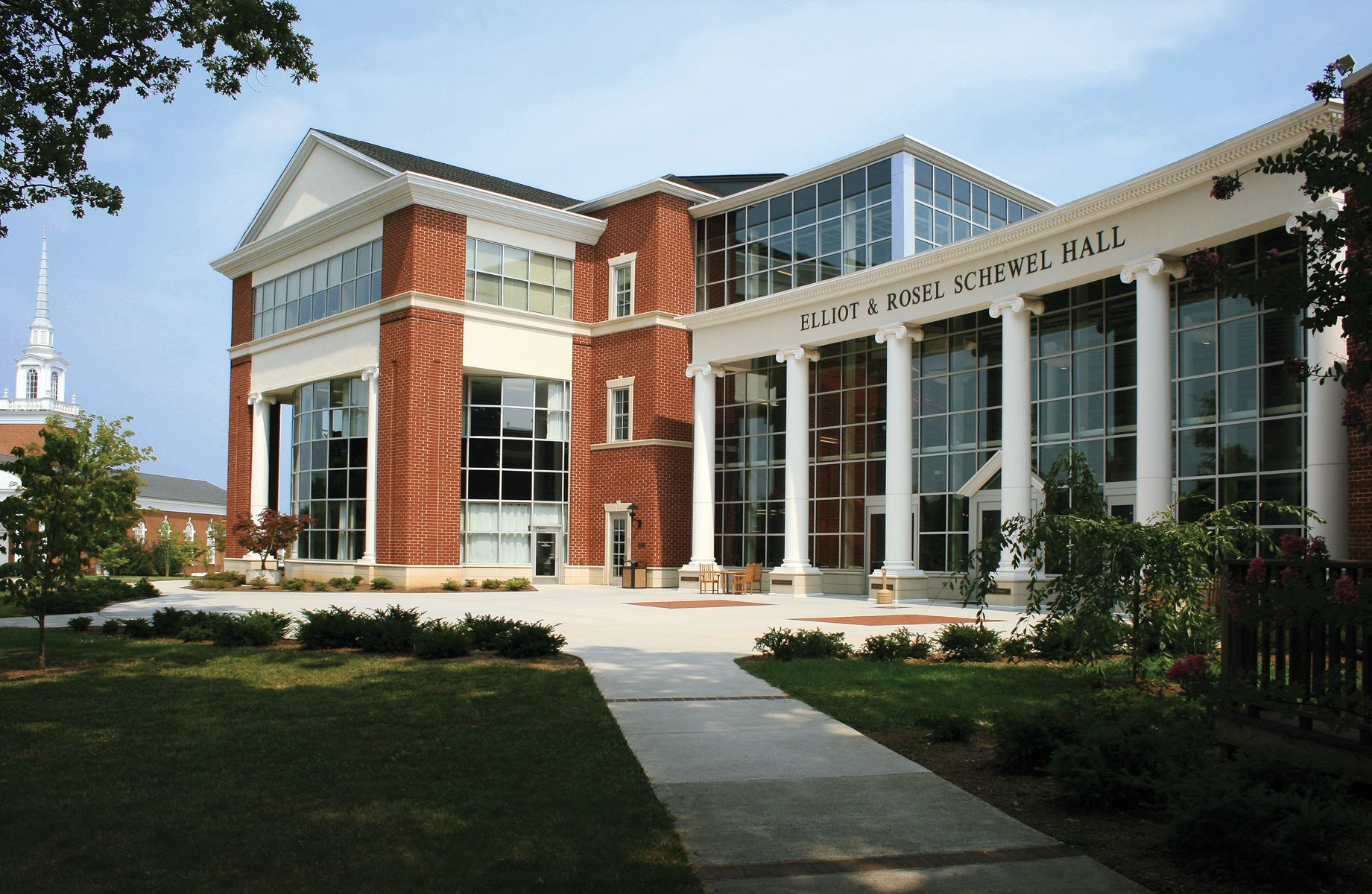 Schewel Hall is the newest building on the LC campus.