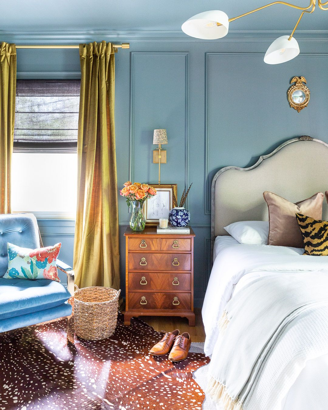 Design An Elegant Bedroom In 5 Easy Steps: One Room Challenge, The Reveal: A Modern Traditional