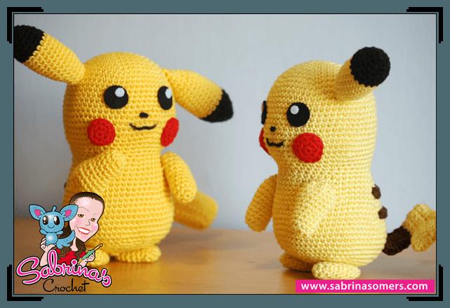 Crochet Pattern Pikachu Crochet Toys Crochet Crochet Pokemon