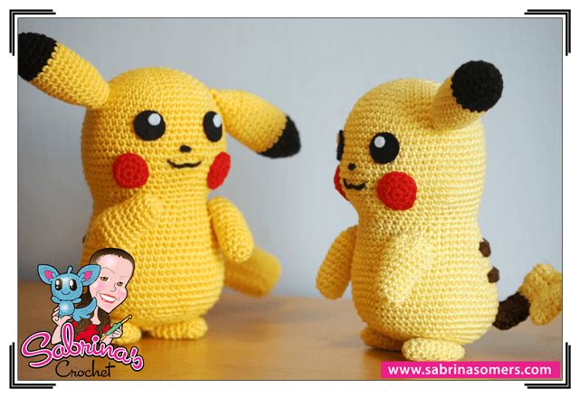 Pokemon Amigurumi Deutsch : Pikachu - Pokemon - Kostenlose hakelanleitung - Amigurumi ...