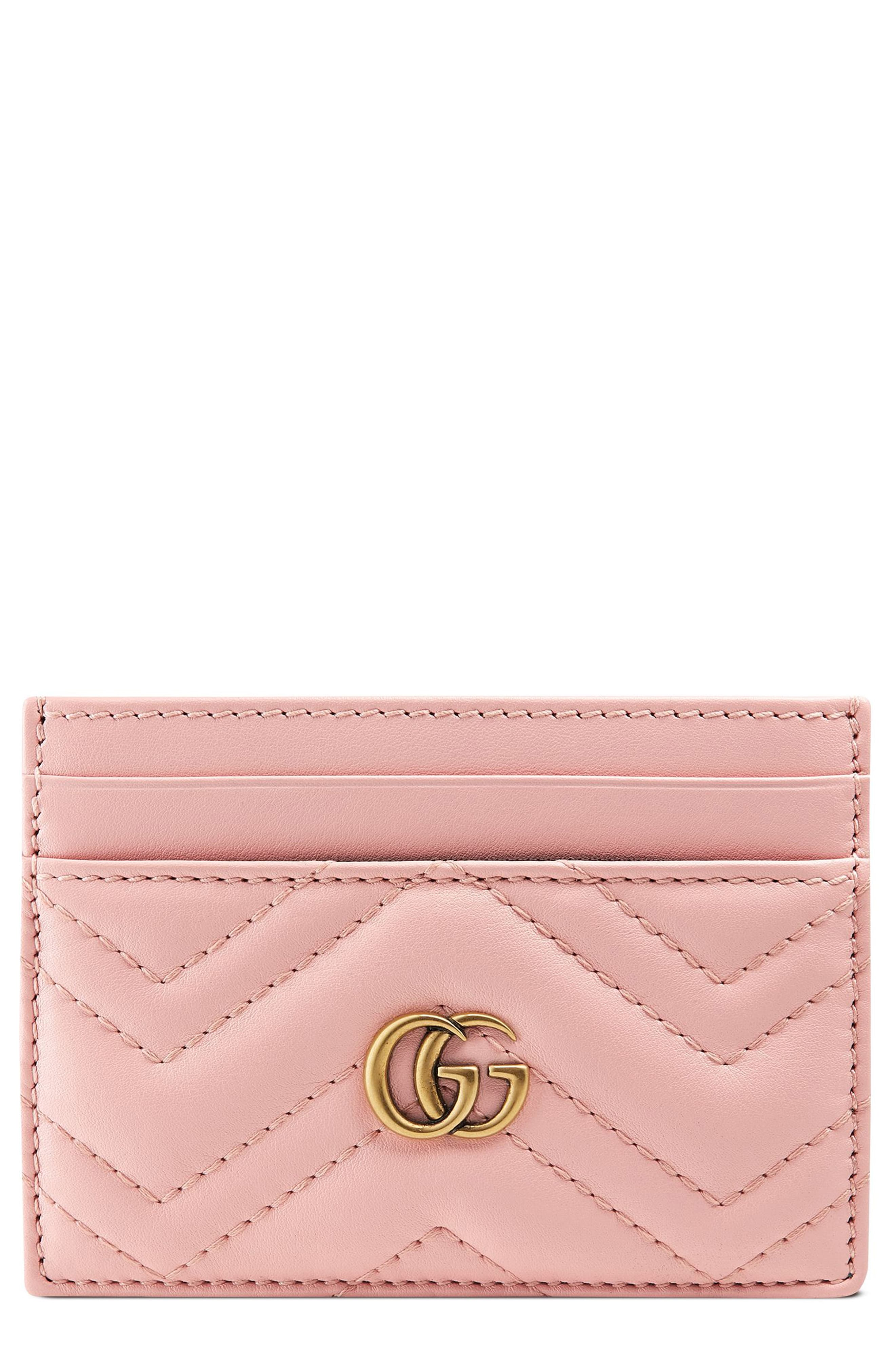new arrival 0aa72 ad5a3 Gucci GG Marmont Matelasse Leather Card Case in 2019   Products ...