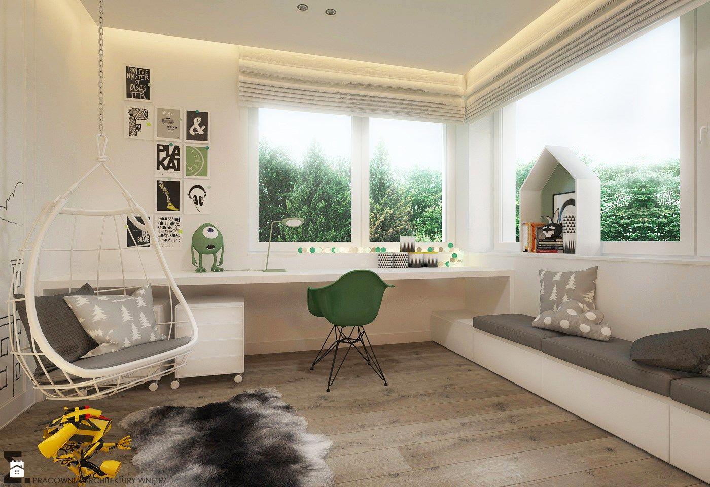 Pok j dziecka styl skandynawski zdj cie od elementy for Dormitorio 10m2