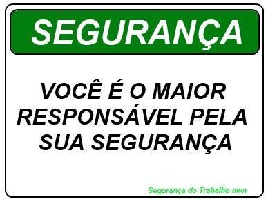 68e8d571de5a3 Placas de Segurança do Trabalho   SEGURANÇA NO TRABALHO   Pinterest ...