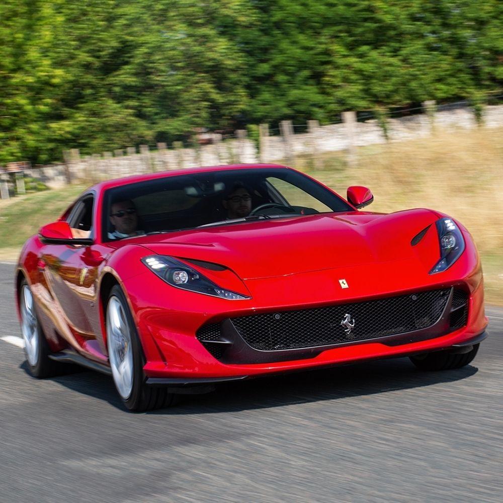 Ferrari On Instagram A Riveting Driving Experience Awaits With The Ferrari812superfast S Front Engined V12 And Aggressive Flair Fe Ferrari Ferrari Car Car