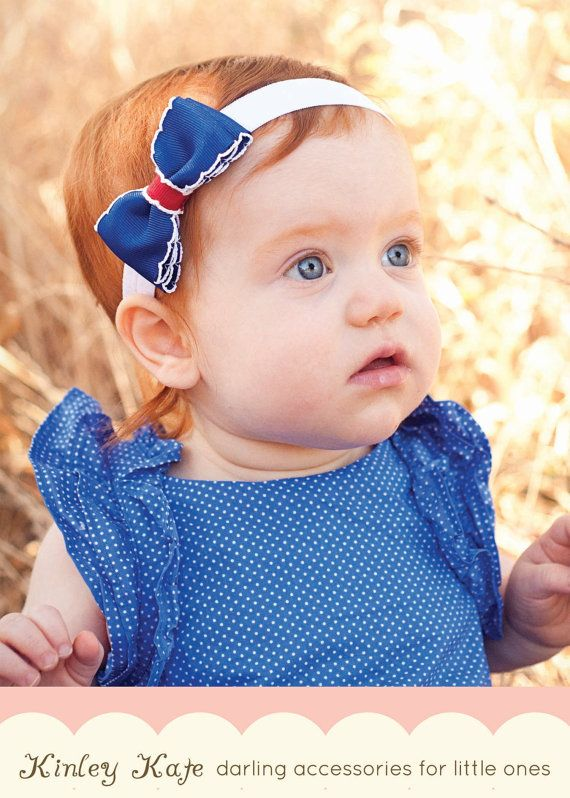 Beautiful Quality Hairbows for Babies and Girls by KinleyKate