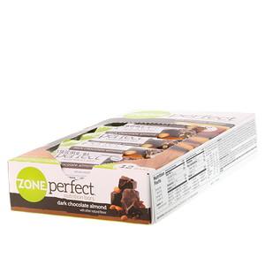Zoneperfect 뉴트리션 바 다크 초콜릿 아몬드 바 12개입 각 1 58 Oz 45 G ダークチョコレート 栄養 ビタミン