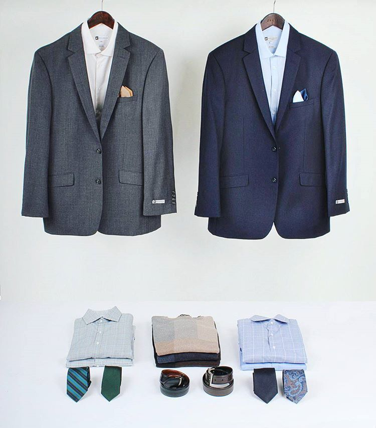 5ac145d40681f4 e're digging these suit outfits for winter. See the full collection of men  suits at Bachrach.com #dapperlydone #greatmenfashion #menfashionpost ...