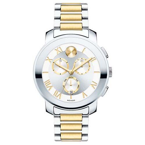 081e5baa113 Relógio Movado Feminino Aço Dourado e Prateado - 3600280 ...