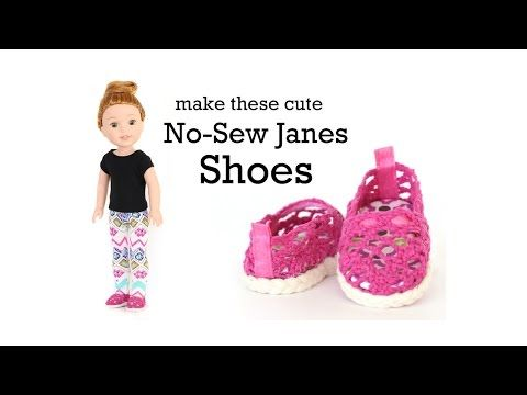 Pixie Packs Josephine Shoe Collection 18 inch doll clothes supply kit | Pixie Faire #beddollsandcrocheted1112sizedolldresses