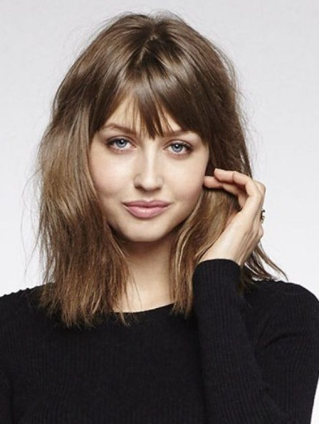 Try Hairstyles Inspiration Fringe Hairstyle  Fringe Hairstyles Hairstyles Haircuts And Messy